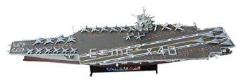 UNIMAX 1/700 CVN-65 空母エンタープライズ 地中海 2001 ホビージャパン