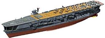 1/700 帝国海軍シリーズNo.22 日本海軍航空母艦 加賀 フルハルモデル フジミ模型