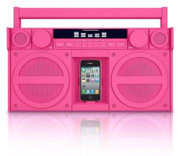 SDI Technologies iHome iP4 Portable Stereo Boombox SDI-IP4PZC