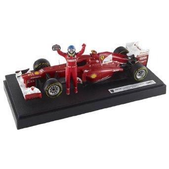 MATTEL 1/18 フェラーリ F2012 マレーシアGP 2012 #5 京商