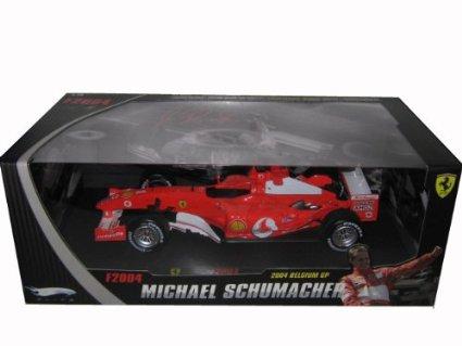 MATTEL 1/18 Ferrari F2004 MICHAEL SCHUMACHER 京商