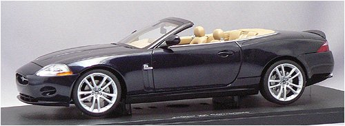 AUTOart 1/18 ストリートシリーズ ジャガー XK カブリオレ '06 (ブルー) オートアート