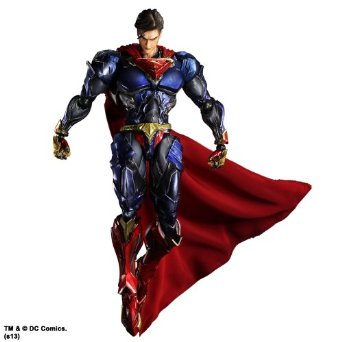 DC Comics VARIANT PLAY ARTS改 スーパーマン(PVC塗装済みアクションフィギュア) スクウェア・エニックス