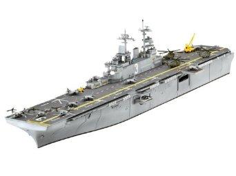 1/700 U.S.S. キアサージ (強襲揚陸艦) ドイツレベル
