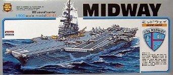 1/800 戦艦 空母 No.8 空母 ミッドウエイ マイクロエース