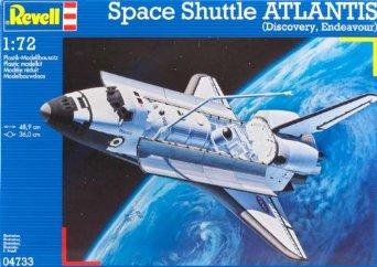 1/72 スペースシャトル・オービター (04733) ドイツレベル