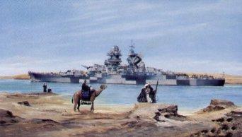1/350 フランス海軍戦艦 リシュリュー 1943 トランペッター