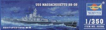 1/350 米海軍 BB-59 マサチューセッツ トランペッター