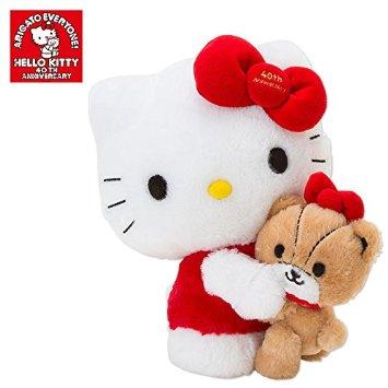 ハローキティ ぬいぐるみ(40th キティ&タイニーチャム) サンリオ