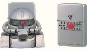 ZIPPO(ジッポー) 機動戦士 2004年製 ガンダム スタンドセット ガンダム ザク古美 MS-06 2004年製 GND-ZAKU-FRB-STH9198 MS-06 バンプレスト, ダヴィンチマーケット:2f1f4632 --- officewill.xsrv.jp