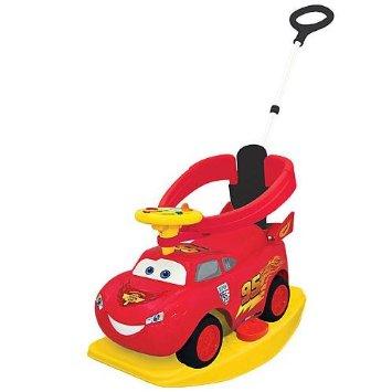 Disney Pixar Cars 2 - 4-in-1 Ride On - Lightning McQueen  Kiddieland カーズ