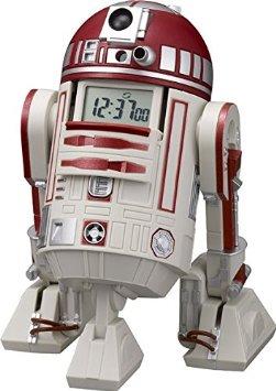 STAR WARS(リズム時計) R4-P17 音声・アクション目覚し時計 赤色 8ZDA21BZ01