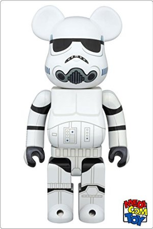 medicom toy BEARBRICK STAR WARS STORMTROOPER(TM) CHROME Ver.400 メディコム・トイ ベアブリック スターウォーズ ストームトルーパー (400%)