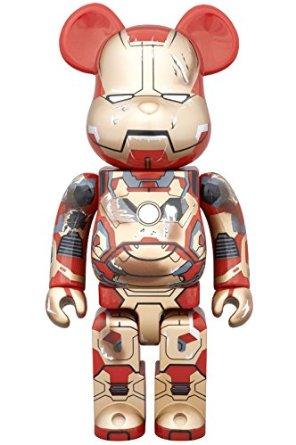 ベアブリック BE@RBRICK アイアンマン IRON MAN MARK XLII(42) DAMAGE Ver. 400% 2015 ワンフェス 冬 WF Medicom Toy 新品