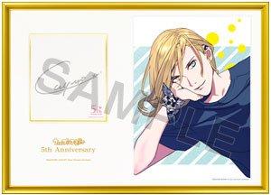 BOS限定 うたの☆プリンスさまっ♪ 5th Anniversary メモリアルフォト「カミュ」直筆サイン入り うたプリ ブロッコリー