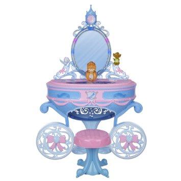 ディズニープリンセス シンデレラ キャリッジドレッサーdp016【おもちゃ お化粧 鏡台 家具 かわいい 子供用 プレゼント グッズ】