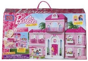 Mega Bloks (メガブロック) Barbie(バービー) Luxury Mansion ドール 人形 フィギュア(並行輸入)