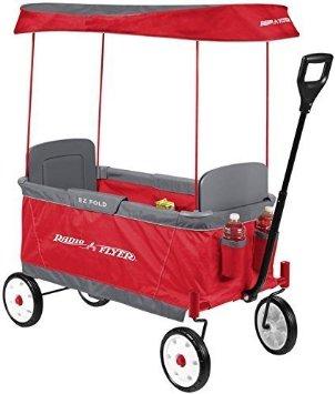Radio Flyer Kid's Ultimate EZ The Best Folding Wagon Ride On by Radio Flyer ラジオフライヤー
