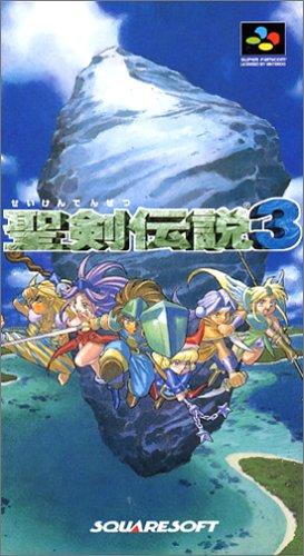 聖剣伝説3 スクウェア スーパーファミコン(未使用)
