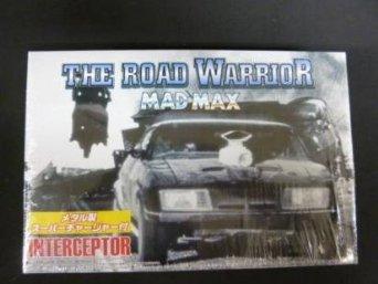 アオシマ MADMAX インターセプターTHE ROAD WARRIOR 1/24 メタル製スーパーチャージャー付 限定版 青島文化教材社