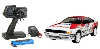 1/10 XBシリーズ No.124 XB トヨタ セリカ GT-FOUR 1990 (TT-01シャーシ TYPE-E) プロポ付き完成品 57824 タミヤ