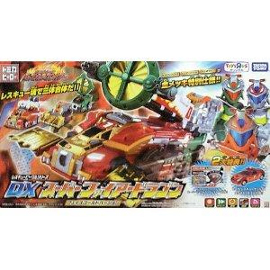 トミカヒーロー レスキューファイアー レスキュービークルシリーズ DX スーパーファイアードラゴン フェイスゴールドバージョン