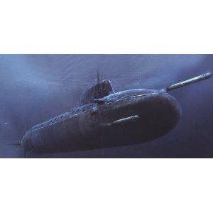 1/350 潜水艦シリーズ ロシア海軍 ヤーセン型原子力潜水艦 ホビーボス