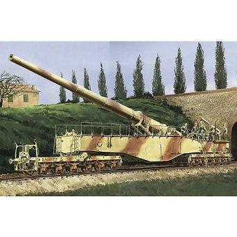 1/35 28cm列車砲 レオポルド ドラゴン