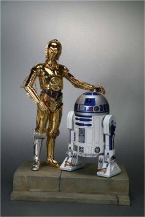 STARWARS C-3PO & R2-D2 (1/7 ソフトビニール塗装済み簡易組み立てキット) 壽屋