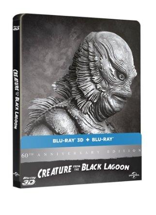 【限定】大アマゾンの半魚人 60周年アニバーサリー スチールブック仕様 ブルーレイ(2D/3D) [Blu-ray]