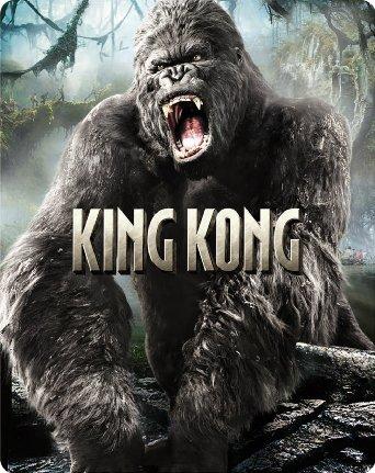 【限定】キング・コング スチールブック仕様ブルーレイ [Blu-ray]
