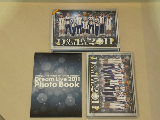ミュージカル『テニスの王子様』コンサート Dream Live 2011 DVD