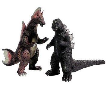 特別限定版仕様 ムービーモンスタシリーズ【ゴジラ1975&チタノザウルスセット】 バンダイ