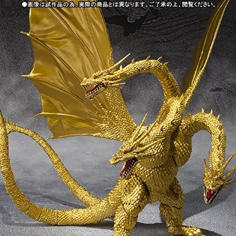 S.H.MonsterArts キングギドラ Special Color Ver. ABS&PVC製 フィギュア バンダイ