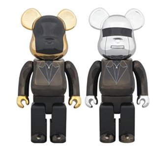 BE@RBRICK DAFT PUNK(Random Access Memories Ver.)2PACK GUY-MANUEL de HOMEM-CHRISTO / THOMAS BANGALTER 400%