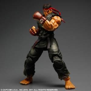 SUPER STREET FIGHTER IV ARCADE EDITION PLAY ARTS改 Ryu【リュウ】 限定カラー黒Ver. スクウェア・エニックス, 大西測定:dc90df17 --- chargers.jp