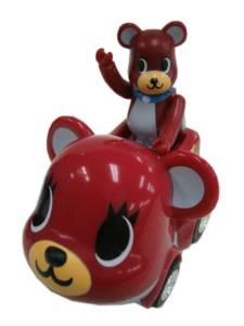 チョロQ BE@RBRICKチョロQ moderan pets dreaming bear dog (レッド) タカラトミー