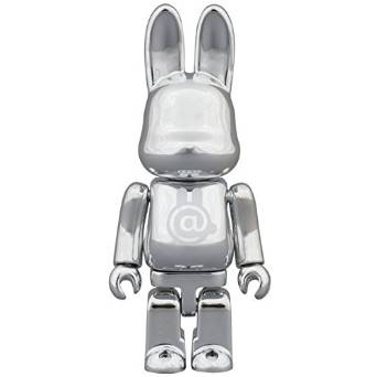 RABBIT + BE@RBRICK = R@BBRICK CHROME