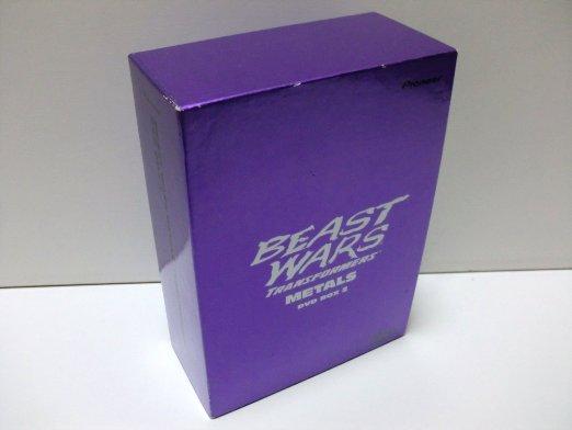 ビーストウォーズメタルス 超生命体トランスフォーマー DVD-BOX 2 新品 マルチレンズクリーナー付き