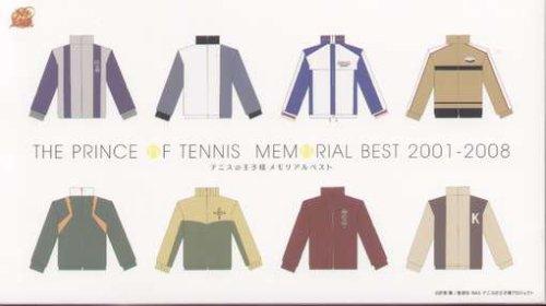テニスの王子様 メモリアルベスト 2001-2008 CD