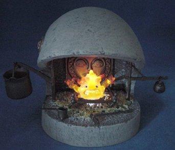 コミニカ イメージコレクションXI ハウルの動く城 カルシファー暖炉セット