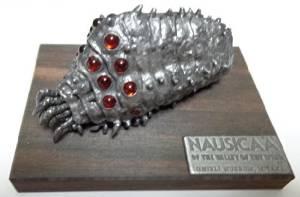 ジブリ美術館 限定品 風の谷のナウシカ オウム「ジブリ美術館オリジナル王蟲」赤眼