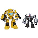 Transformers Rescue Bots Bumblebee and Morbot Figure Pack Hasbro