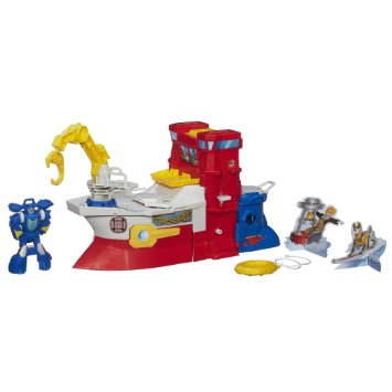 Transformers Rescue Bots High Tide Rescue Rig Playset トランスフォーマー レスキューボッツ
