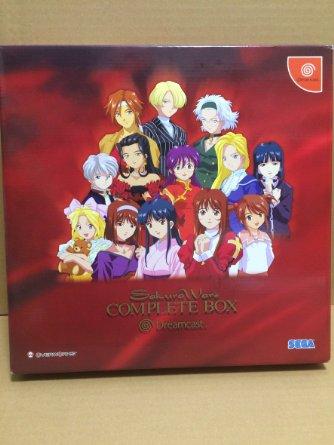 サクラ大戦 COMPLETE BOX Dreamcast 未使用
