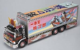 スカイネット 1/32 RC トラック野郎 No.09 男一匹桃次郎 青島文化教材社 未使用
