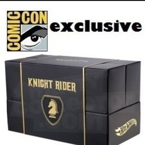 HOT WHEELS Knight Rider K.I.T.T. SDCC San Diego Comic Con Exclusive ホットウィール ナイトライダー KITT SDCC サンディエゴ コミコン エクスクルーシブ マテル 新品