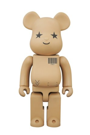 【Amazon.co.jp限定】 BE@RBRICK 400% Amazon.co.jp version(ABS&PVC塗装済みアクションフィギュア) メディコム・トイ 新品