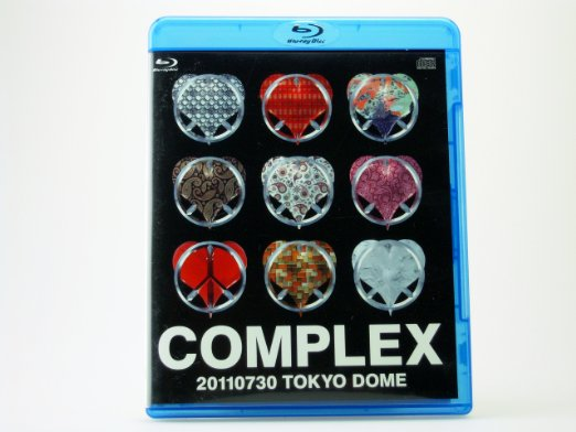 日本一心 20110730 TOKYO DOME 【Blu-ray+LIVE CD】COMPLEX ローソン完全受注限定予約商品 新品