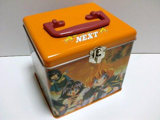スレイヤーズ NEXT 缶 DVD BOX (完全予約限定版) 林原めぐみ 新品
